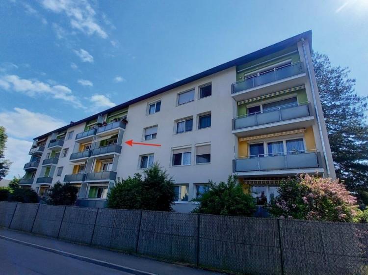 Objektfoto: Gepflegte 3-Zimmer-Wohnung (2 Balkone) in ruhiger Zentrumslage
