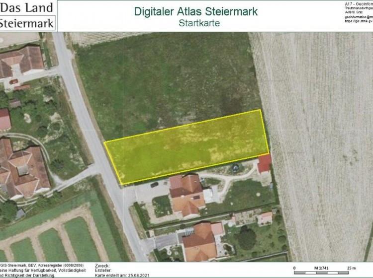Objektbild: Fürstenfeld - ebenes Baugrundstück in ruhiger Siedlungslage